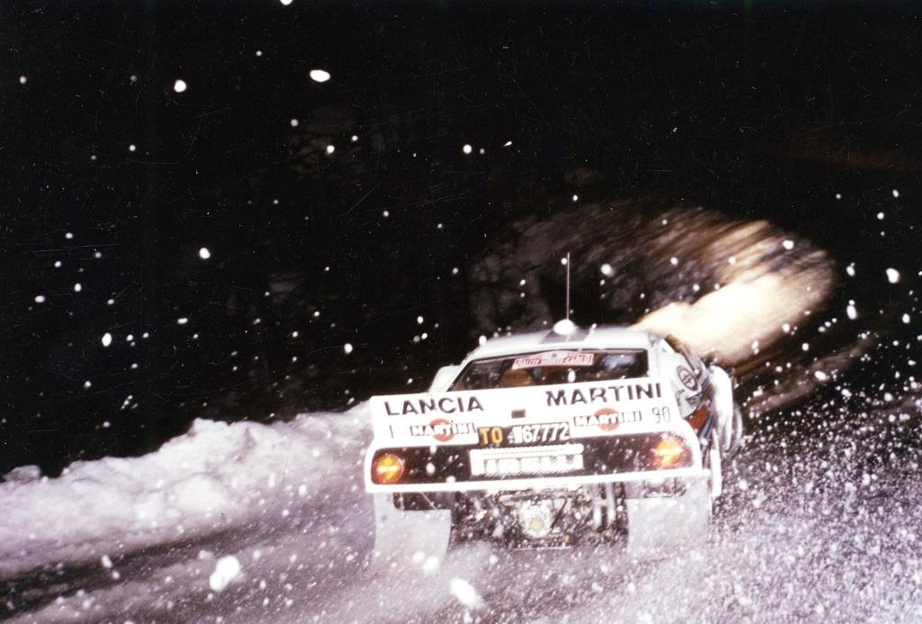 Jean-Claude-Andruet-Sergio-Cresto- Lancia-037- 1984 - Rallye-Monte-Carlo-Photo-Thierry-Le-Bras