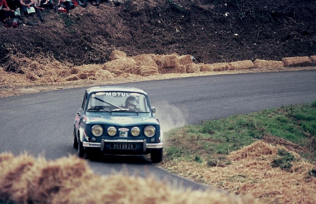Jean-Claude-Tanguy - Renault-R8-Gordini- 1974 - CC-Saint-Gouëno- Photo-Thierry-Le-Bras