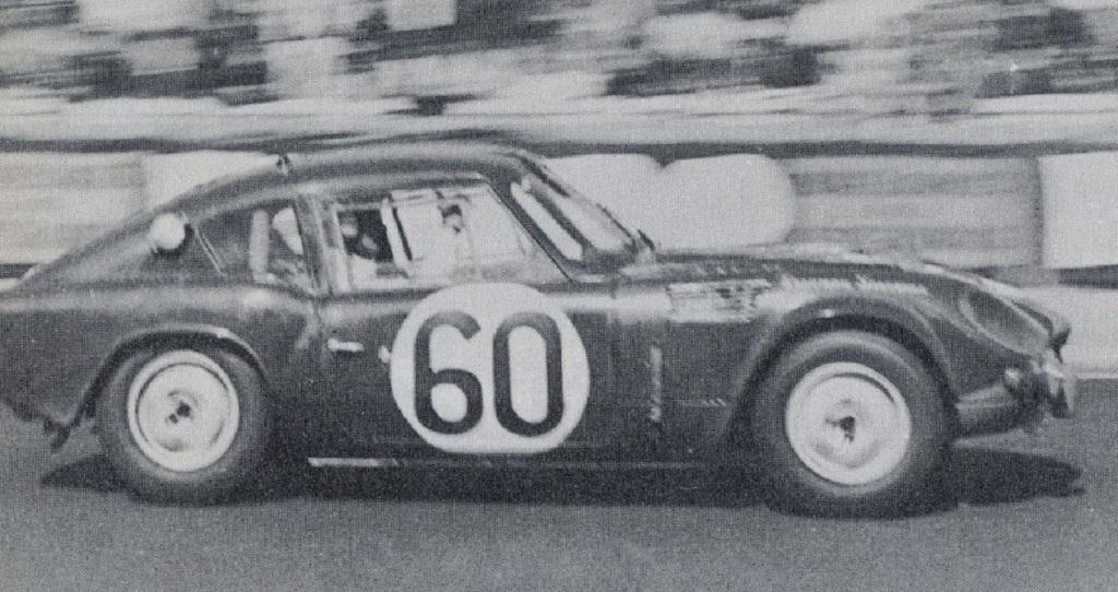Jean-Jacques Thuner- Simo Lampinen - Triumph-Spitfire - 1965 - Le Mans- Copyright-inconnu