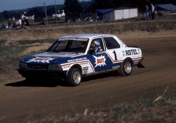 Jean-Piere-Beltoise - Peugeot-505 - 1980 - Rallycros-Lohéac - Photo-Thierry-Le-Bras