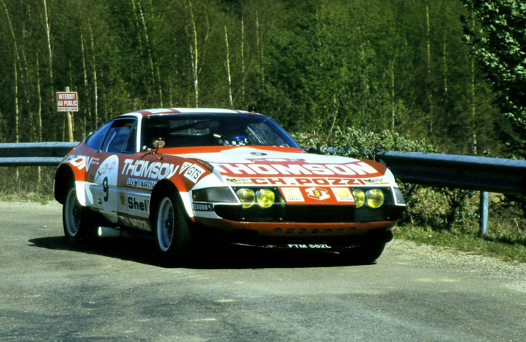 Knapfield-Fawe - Ferrari-365-GTB4-Daytona- 2003 -1 -Tour-Auto - Photo-Thierry-Le-Bras