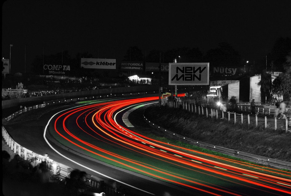 Le Mans de nuit - Photo Thierry Le Bras / post-prod by ELJ