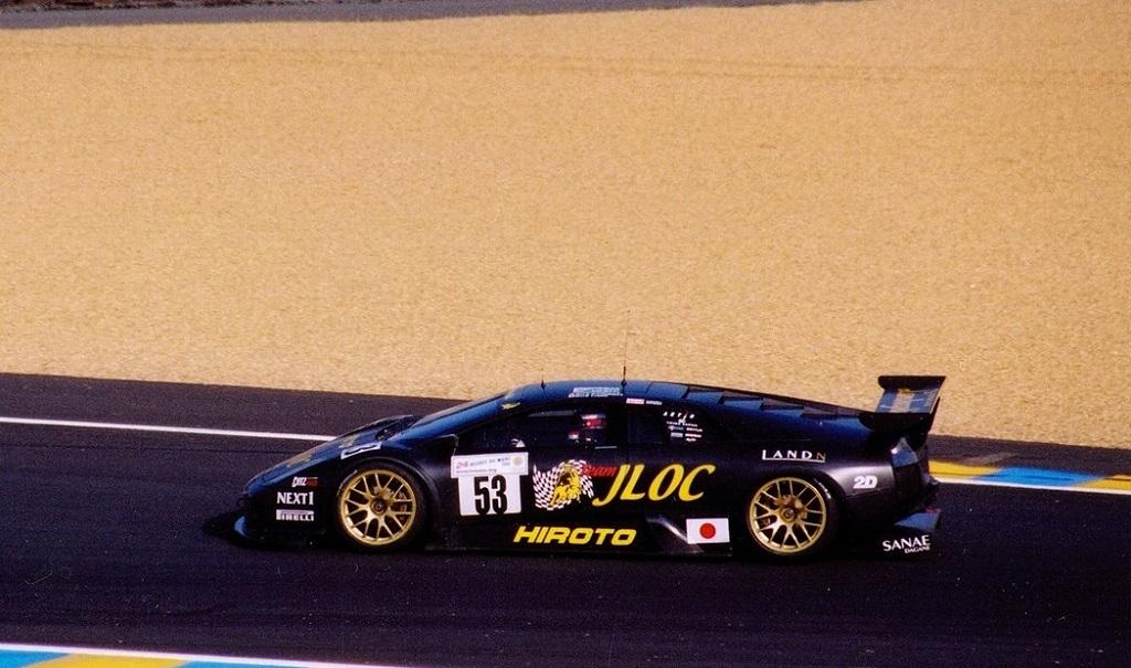 Lamborghini-Murcielago-R-GT- 2006 - Le-Mans - Photo-Thierry-Le-Bras