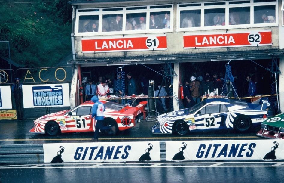 Lancia-Beta-Montecarlo - 1980 - Le-Mans - Photo-Thierry-Le-Bras