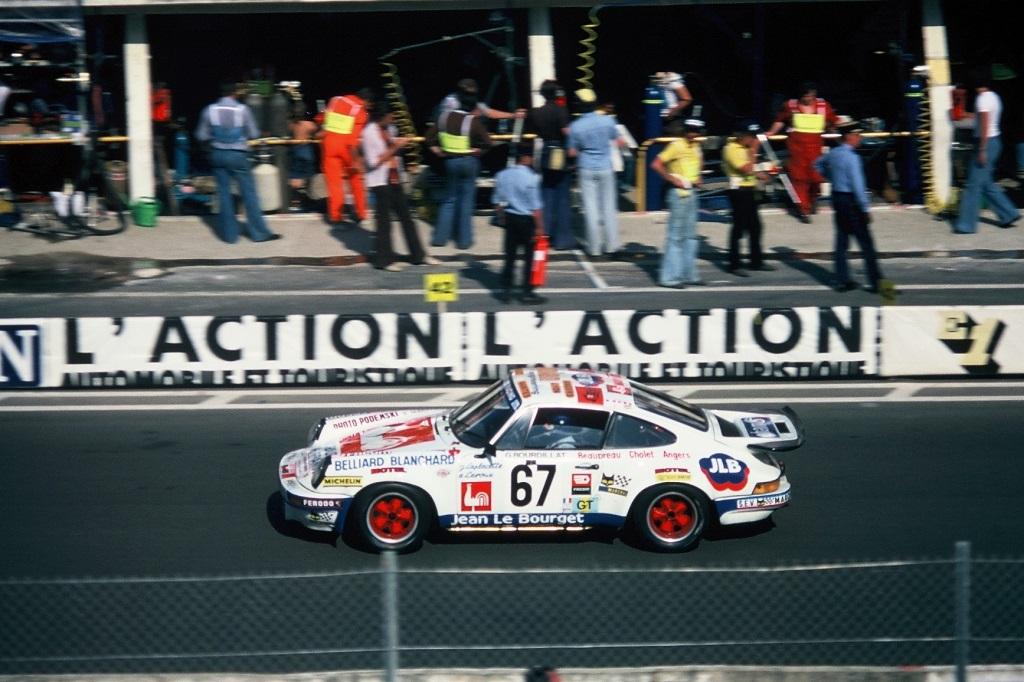 Laplacette-Leroux-Bourdillat - Porsche-RSR - 1976 - Le-Mans - Photo-Thierry-Le-Bras