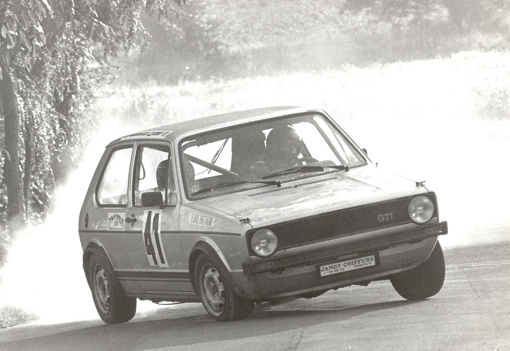 Thierry-Le-Bras - VW - Golf GTI - 1977 - Saumur-St-Hilaire - Photo - Photo-Actualite (2)