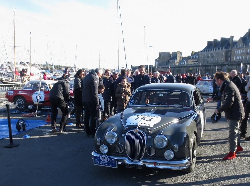 Le-Glohaec-Henanff-Brasseur - Jaguar-MK-1 - 2017 - Saint-Malo - Tour-Auto - Photo-Thierry-Le-Bras