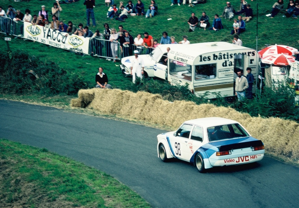 Leclerc - BMW-320 -groupe-2 - 1980 - CC-Saint-Gouëno - photo-Thierry-Le-Bras