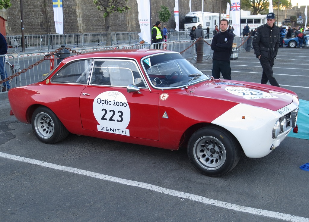 Lemberg- Lemberg - Alfa-Romeo-1750-GTAM- modèle - 1968 - 2017 - TA - Saint-Malo - photo-Thierry-Le-Bras