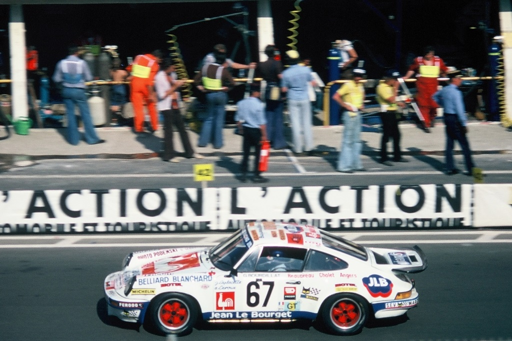 Leroux-Laplacette-Bourdillat - Porsche-Carrera-RS - 1976 - Le-Mans - Photo-TLB