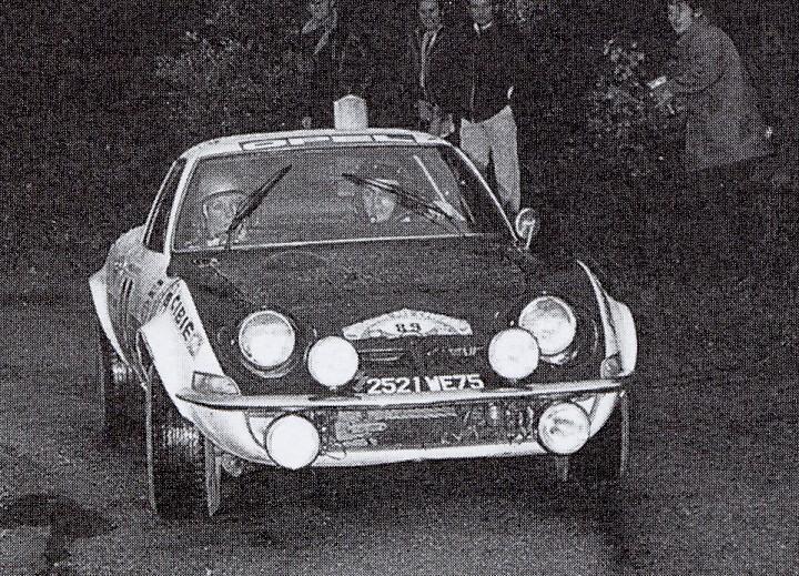 MC-Beaumont - Opel-GT - 1971 - Rallye-des-Cevennes