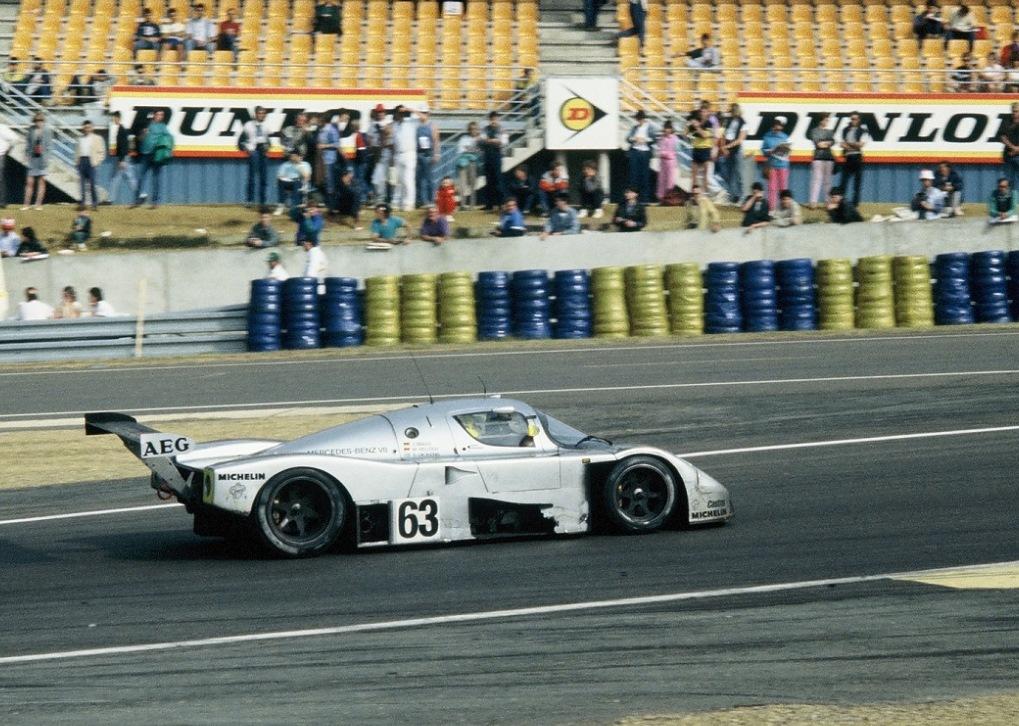 Mass-Reuter-Dickens - Sauber-C9-Mercedes - 1989 - Le-Mans -Photo-Thierry-Le-Bras