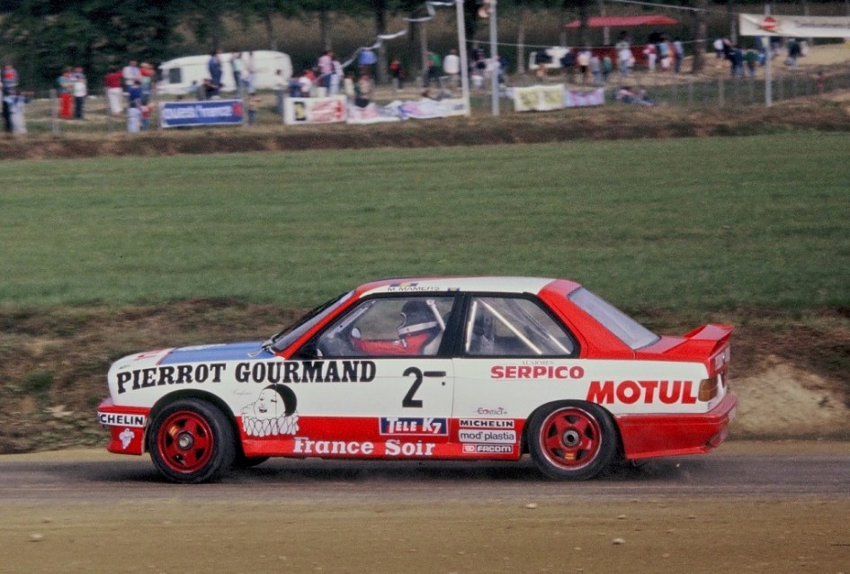 Max-Mamers -BMW-M3- 1987- Rallycross-Lohéac- Photo-Thierry-Le-Bras