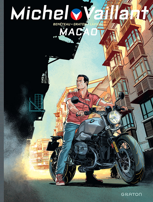 Michel-Vaillant - Macao - couverture