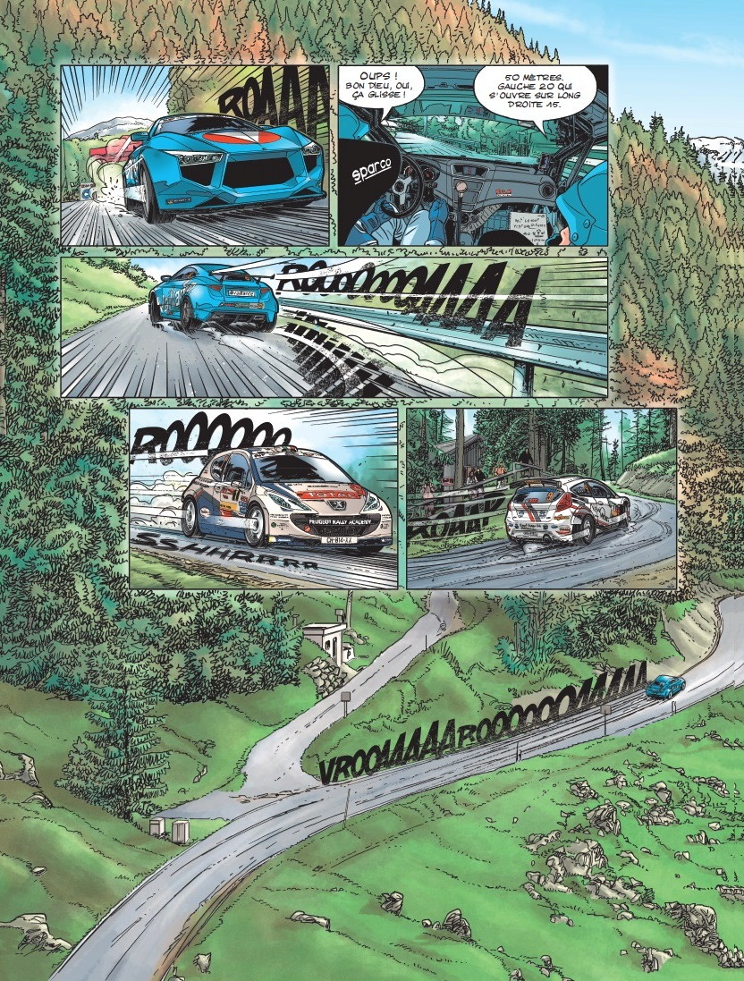 Michel-Vaillant Vaillante-Cervin-R5 - Craig-Breen- Peugeot-207-S2000 -Rallye-du-Valais