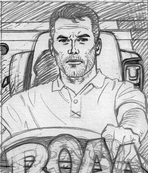 Michel-Vaillant - camionneur