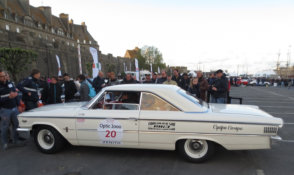Mille-Mahé - Ford-Galaxie - 2017 - Saint-Malo - Tour-Auto - Photo-Thierry-Le-Bras