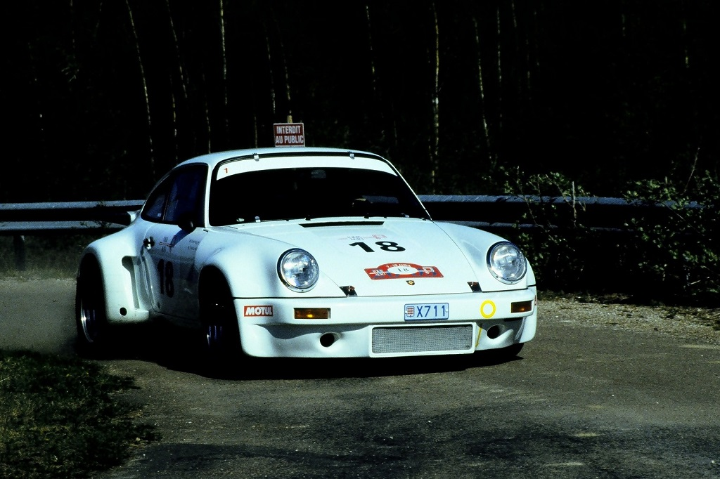 Miloe-Miloe - Porsche-911-Carrera-RSR -1- 2003 - Tour-Auto- Photo-Thierry-Le-Bras