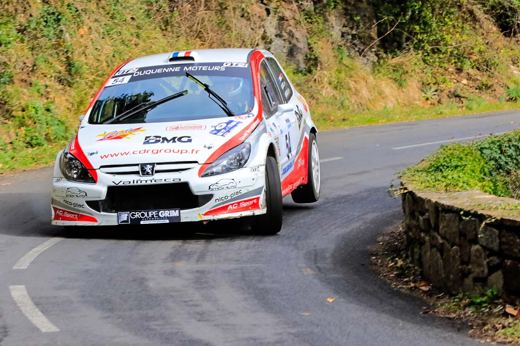 Monteil-Monteil - Peugeot -307 - 2016- Rallye-de-lHerault - Photo-© RacingCarMedia – Guy Pawlak