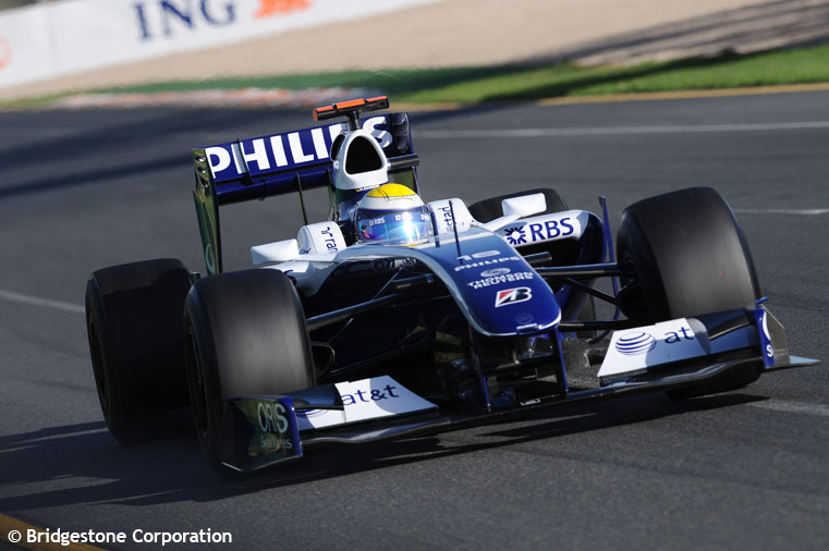 Nico-Rosberg- Williams - 2009 -Melbourne