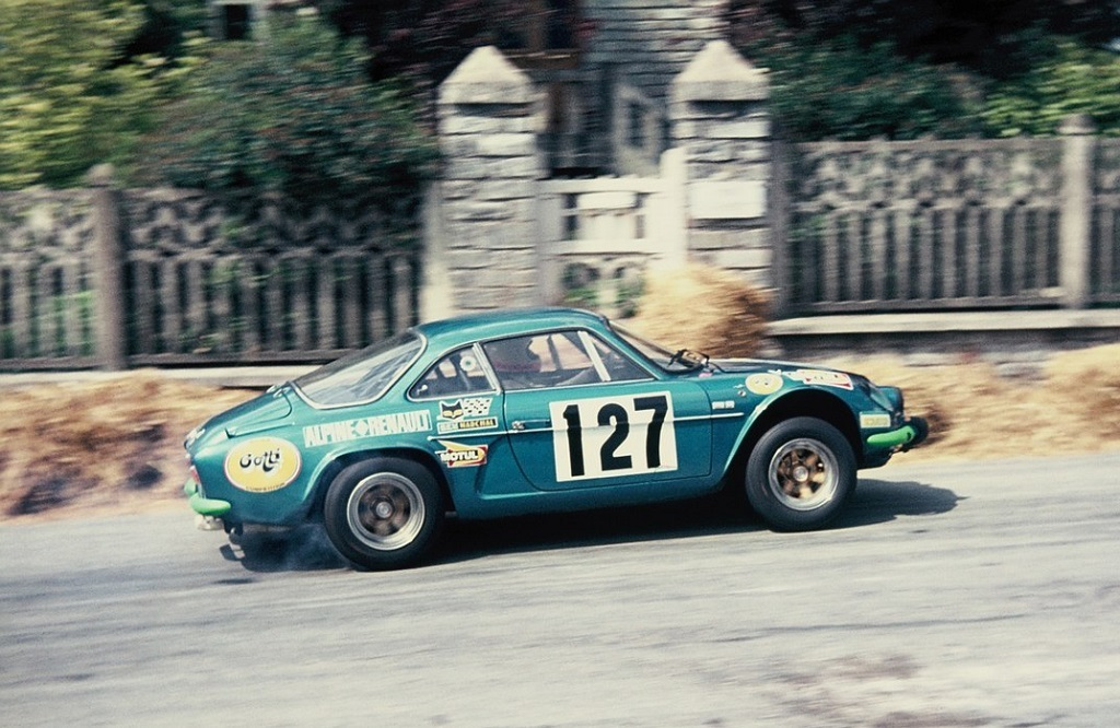 Noël-Guittet -Alpine-Renault-Berlinette - 19743- CC-Saint-Germain-sur-Ille- Photo-Thierry-Le-Bras
