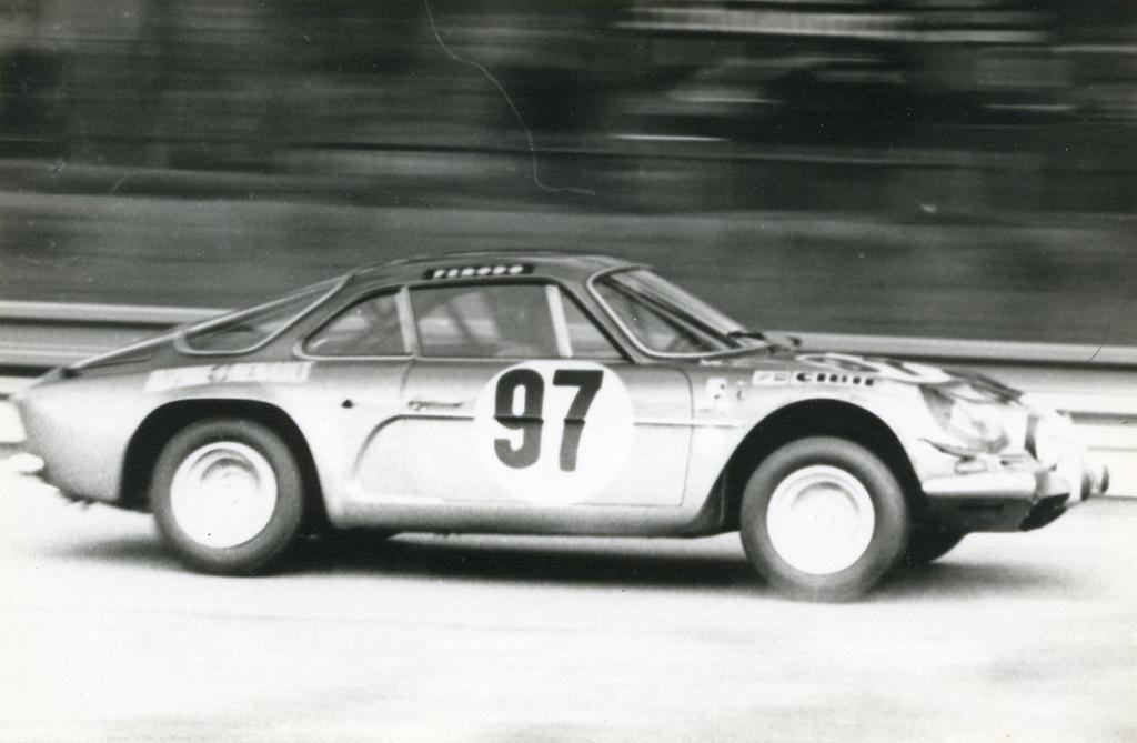 Nusbaumer-Thérier - Alpine-A-110 - 1971 - 3-Heures-du-Mans - Copyright-inconnu