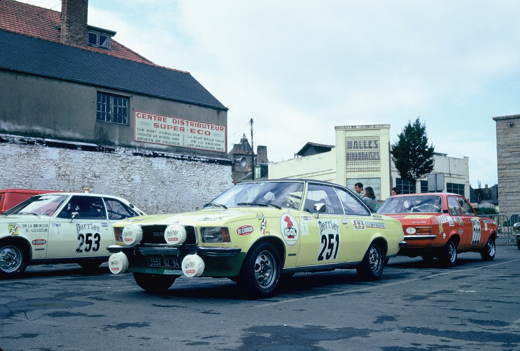 Opel-Commodore-GSE-Ascona-SR - 1973 - Dinard - Grand-National-Tour-Auto - Photo-Thierry-Le-Bras