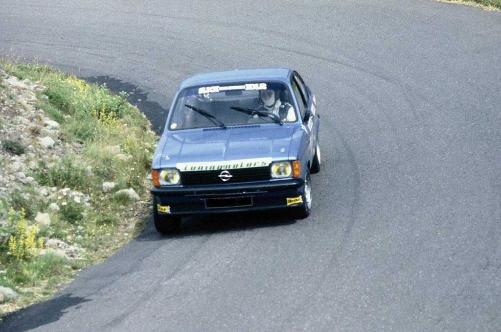 Opel-Kadett-GTE-1978 - Mont-Dore- Photo-Thierry-Le-Bras