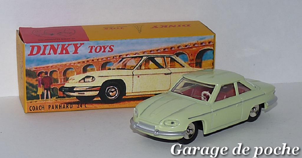 Panhard-24-L - Dinky-Toys - 1-43ème