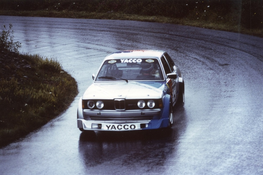 Pasquier-BMW-320 - groupe-2- 1981 - CC-Mont-Dore- Photo-Thierry-Le-Bras