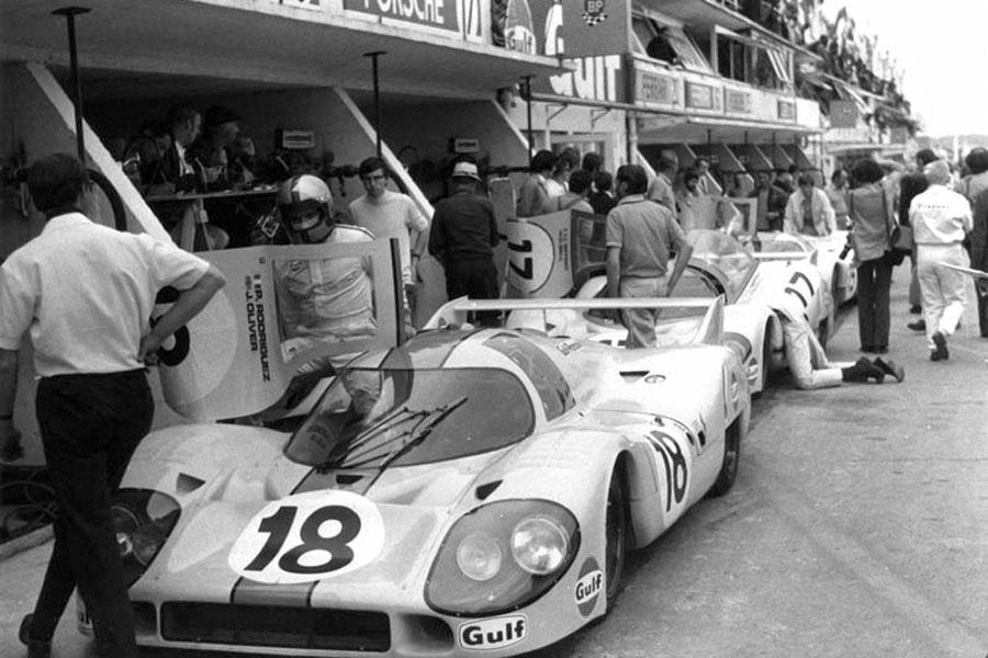 Pedro-Rodriguez- Porsche-917 - 1971 - Le-Mans