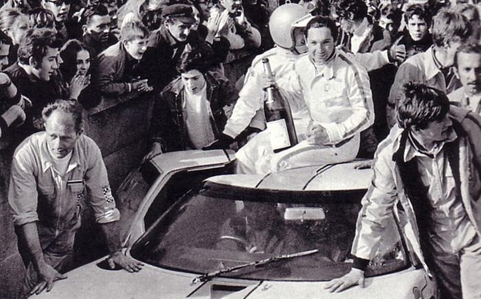 Pedro-Rodriguez-et-Lucien-Bianchi - 1968 - Le-Mans
