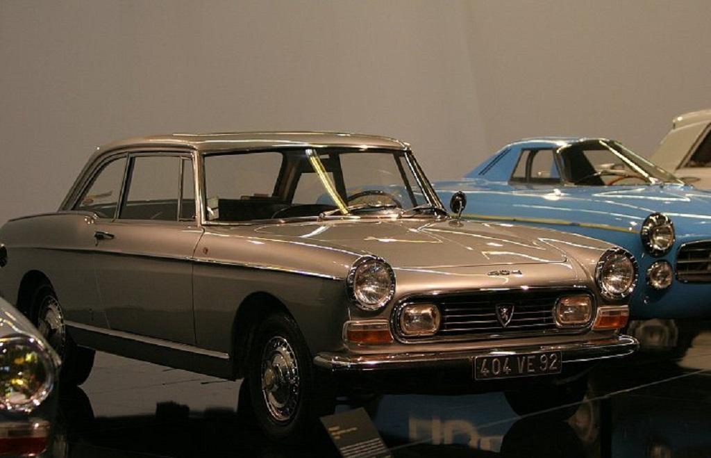 Peugeot-404-Coupé-Années-60