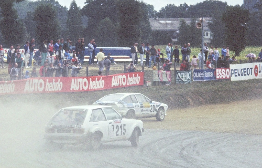 Philippe-Gervoson- Talbot-Sunbeam-Lotus - 1987- Rallycross-Lohéac- Photo-Thierry-Le-Bras