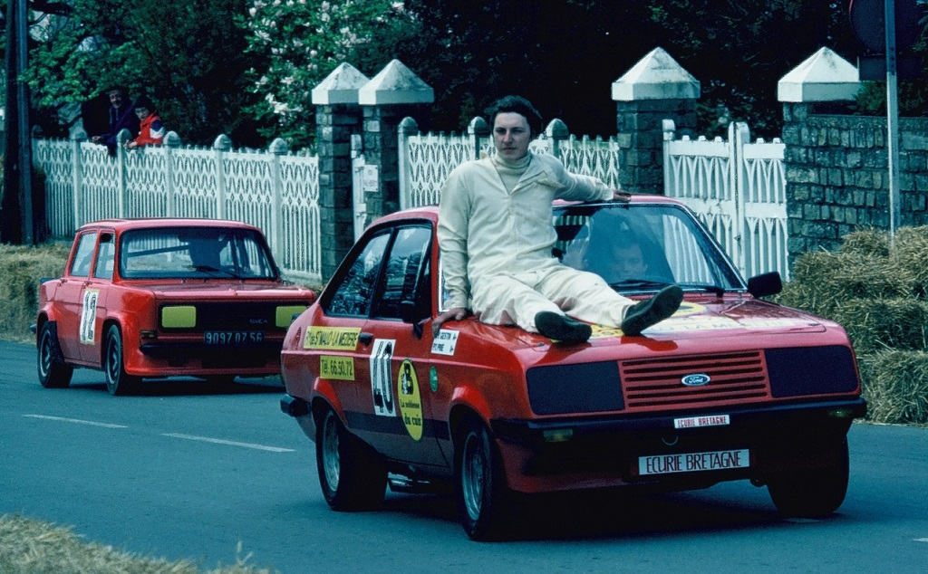 Pierre-Yves-Prié - Ford-Escort-2000-RS-Groupe-1 - 1981 - CC-Saint-Germain-sur-Ille - Poto-TLB