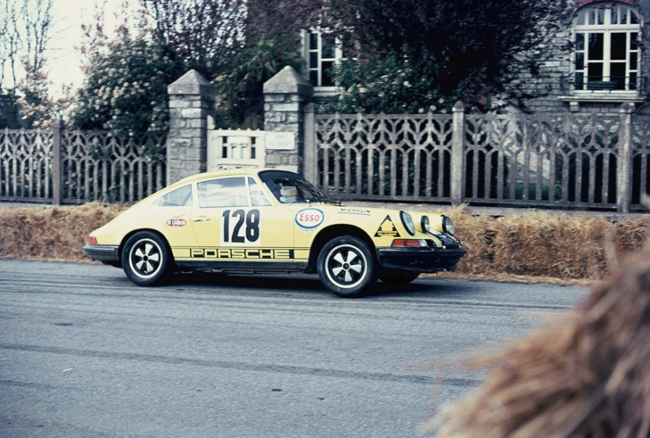 Pigeon - Porsche-911-S  - 1973 - Course-de-côte-de-Saint-Germain-sur-Ille- -Photo-Thierry-Le-Bras