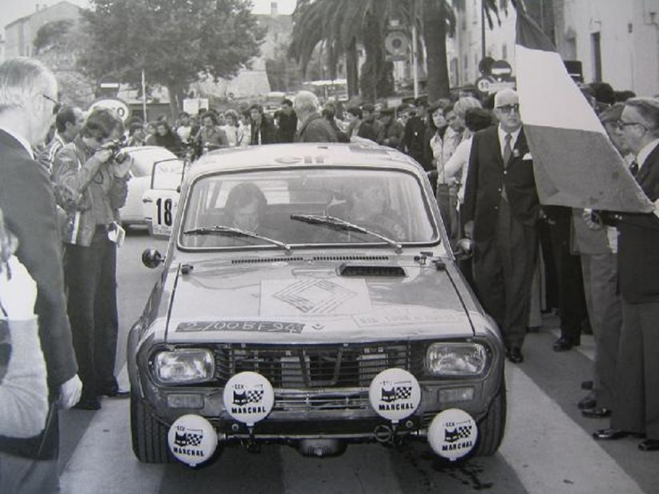 Pironi-Bonamour - R12G - 1975 - Départ-Tour-de-Corse