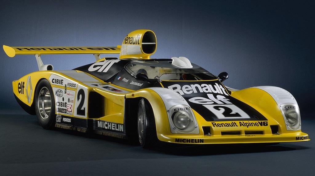 Pironi-Jaussaud - Alpine-A-442B (avec-bulle-aéro) - 1978- Le-Mans