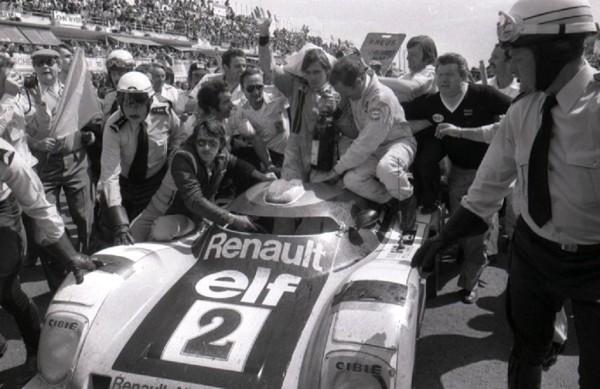 Pironi-Jaussaud - Renault-Alpine-A -442B - 1978 - Arrivée-Le-Mans