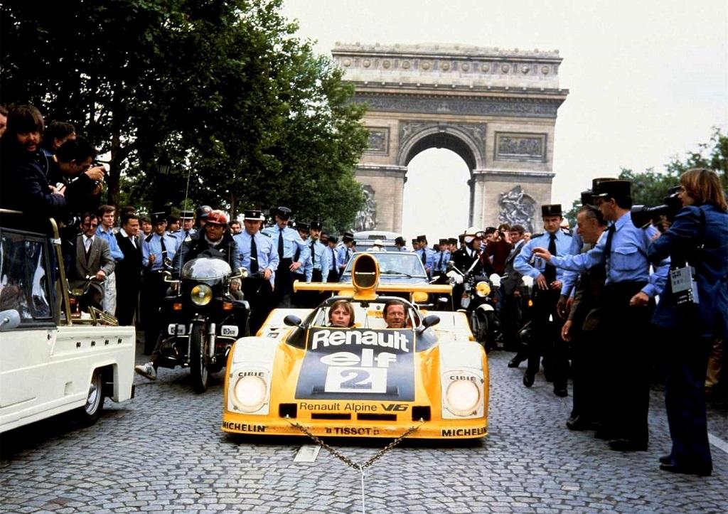 Pironi-Jaussaud -Renault-Alpine-A-442-B - 1978- Champs-Elysées