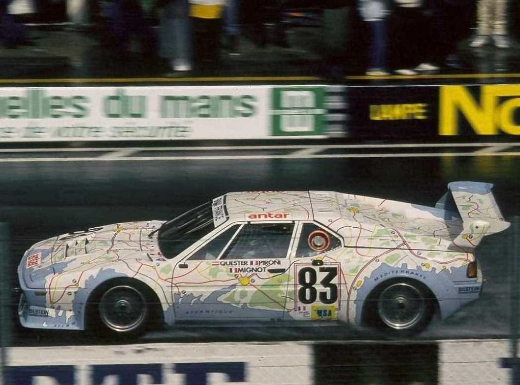 Pironi-Quester-Mignot - BMW-M1 - 1980 - Le-Mans- Photo-Thierry-Le-Bras