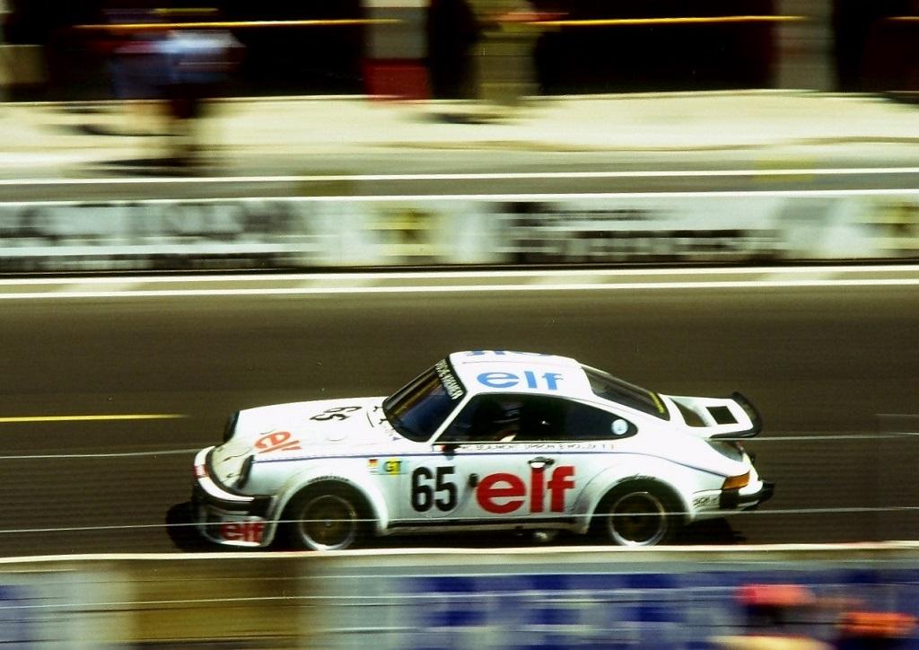 Pironi-Wollek- Beaumont - Porsche-934-Kremer - 1976 -Le-Mans - Photo-Thierry-Le-Bras