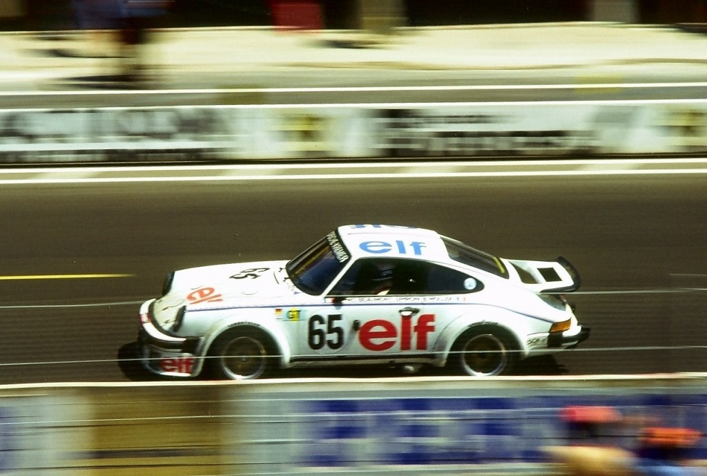 Pironi-Wollek- Beaumont - Porsche-934-T-Kremer - 1976 -Le-Mans - Photo-Thierry-Le-Bras