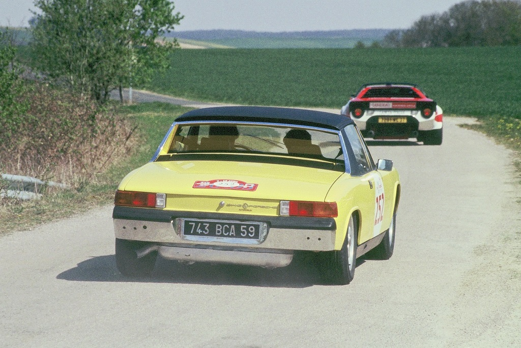 Porsche-914-6 -Lancia-Stratos- 2003 -Tour-de-France-Auto - Photo-Thierry-Le-Bras