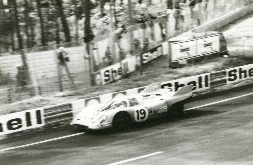 Porsche-917 - -circuit-le-mans-1971 -auteur-inconnu