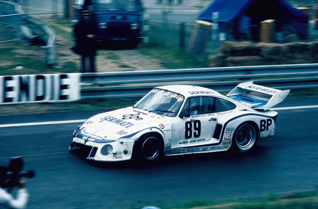 Poulain-Destic-Snobeck - (1) - Porsche-935 - 1980 -Le-Mans - Photo-Thiery-Le-Bras