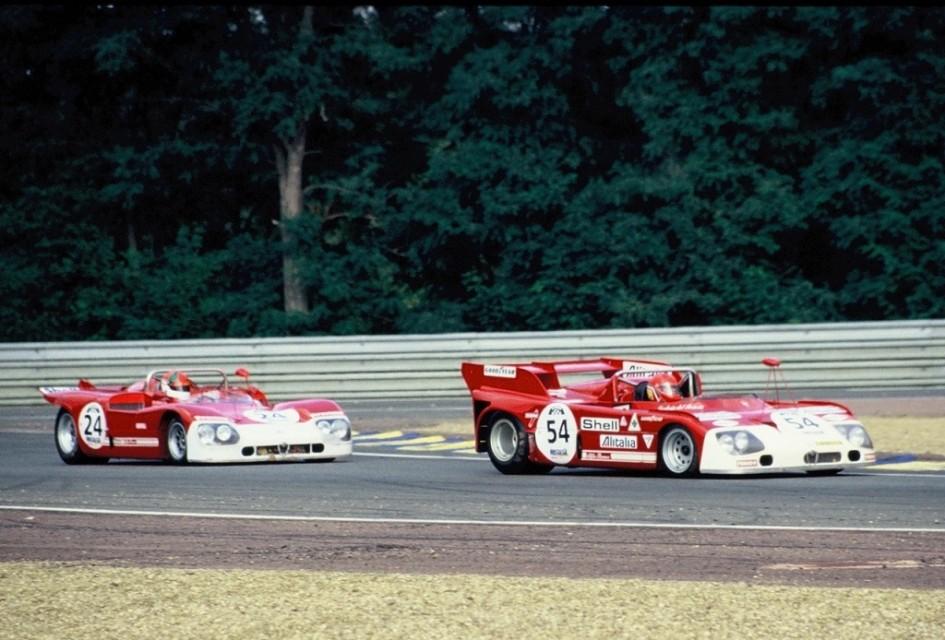 Prototypes-Alfa-Romeo-33- Cicuit-Le-Mans -  Photo-Thierry-Le-Bras