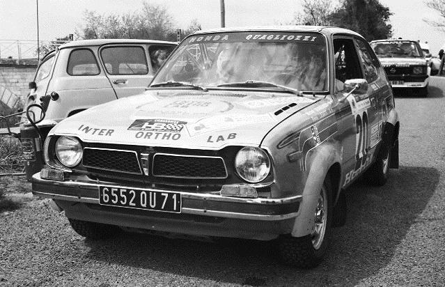 Quagliozzi - Honda-Civic-première génération