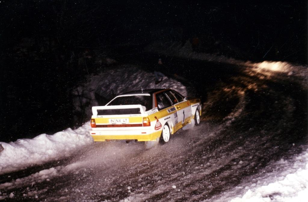 Röhrl-Geistdorfer - Audi-Quattro-1984 - Photo-Thierry-Le-Bras