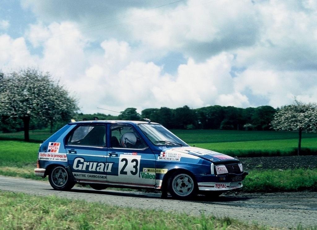 Ravenel-Guillier - Citroën-Visa-groupe-B - 1984 - Rallye-de-La-Baule- Photo- Thierry-Le-Bras